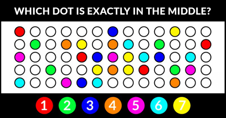 Can You Ace This Hit-The-Dot Quiz?