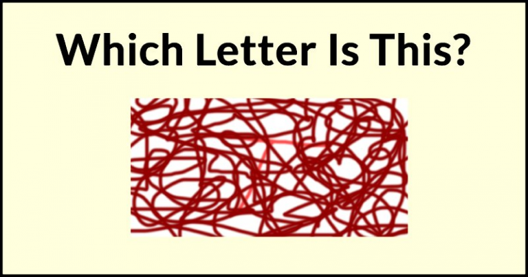 Only If Your IQ Is Higher Than 85 You'll Easily Recognize These Erased Letters. Try It!
