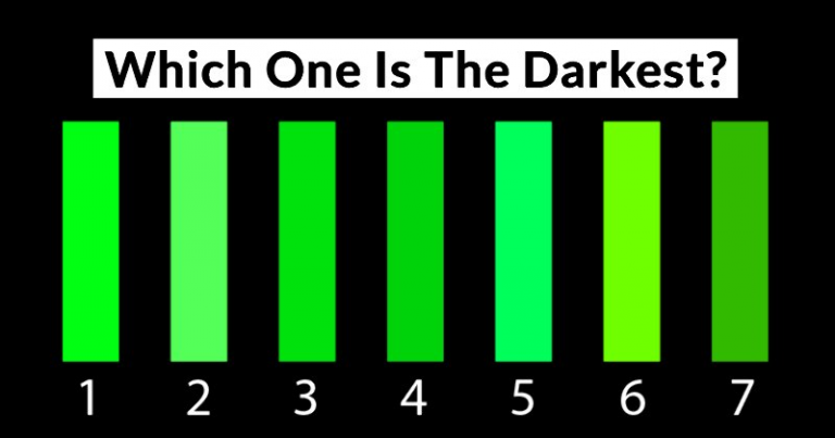 How Good Is Your Color Shade Vision?