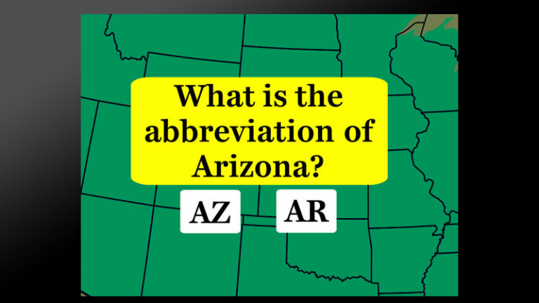 Can You Pass This Tricky 26 State Abbreviations Test?