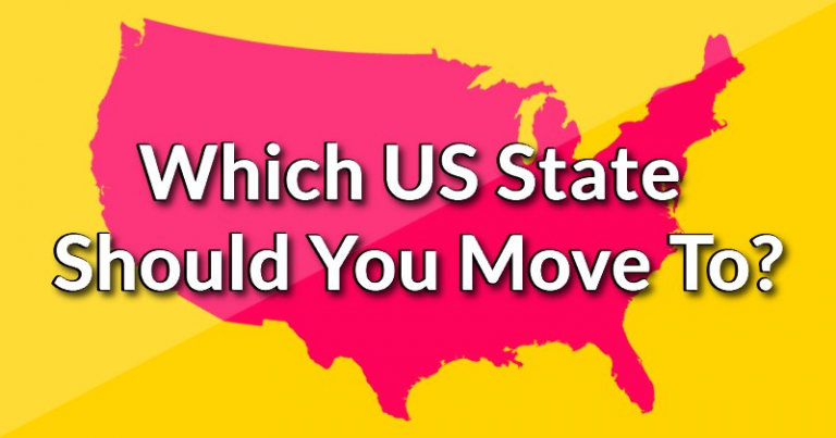 Which US State Should You Move To?