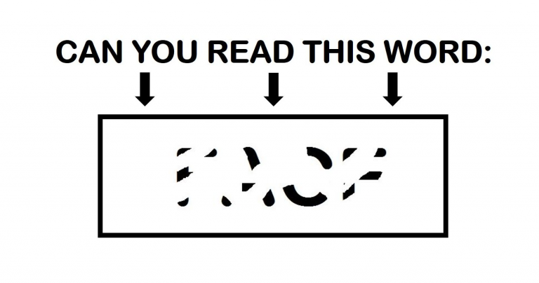 Only People With a High Visual IQ Will Be Able To Read These Erased Words! Can You?