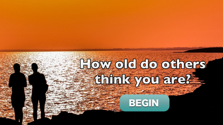 How Old Do Others Think You Are?